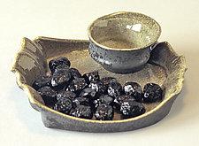 Olive Dish by Kaete Brittin Shaw (Porcelain Olive Dish)