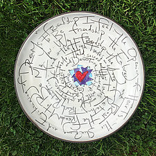 Friendship Platter by Noelle VanHendrick and Eric Hendrick (Ceramic Platter)