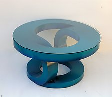 Phthalo Coffee Table by John Wilbar (Wood Coffee Table)