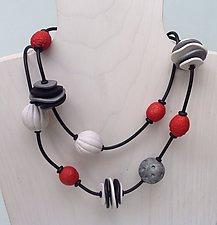 Jeny Necklace by Klara Borbas (Polymer Clay Necklace)