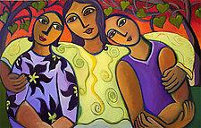 Three's Family by Katharina Magdalena Short (Giclee Print)