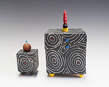 Black Optix Box by Vaughan Nelson (Ceramic Box)