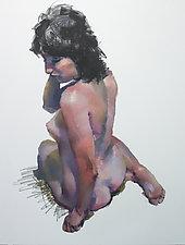 Sitting Torso by Cathy Locke (Oil Painting)