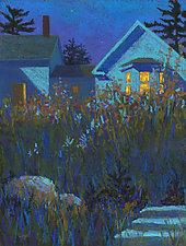 After Dinner Walk by Suzanne Siegel (Giclee Print)
