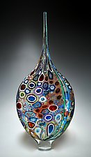 Mixed Murrini Resistenza by David Patchen (Art Glass Sculpture)