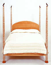 Highpost Bed by Brad Smith (Wood Bed)