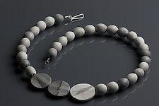 Grace Necklace by Klara Borbas (Polymer Clay Necklace)