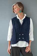 Crossover Vest by Amy Brill Sweaters  (Sweater)