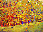 Yellows With Reds Insisting by Ken Elliott (Giclee Print)