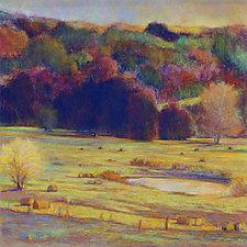 Hayfield Palette by Ken Elliott (Giclee Print)