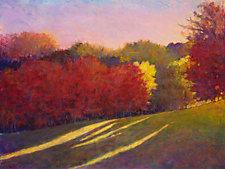 Colorful Slope by Ken Elliott (Giclee Print)