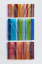 Tapestries in Glass by Nina Falk (Art Glass Wall Sculpture)