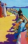 On Casco Bay: Journey by Dana Trattner (Giclée Print)