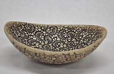Paisley Bowl by Kelly Jean Ohl (Ceramic Bowl)