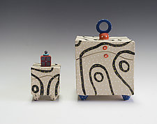 Blackline Box by Vaughan Nelson (Ceramic Box)