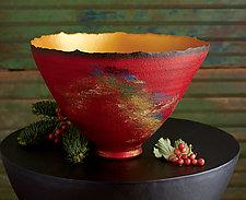 Nature Scene by Cheryl Williams (Ceramic Bowl)