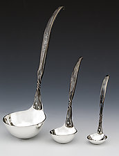 Twist Ladle by Nicole and Harry Hansen (Metal Serving Ware)