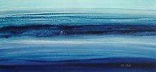 Indigo by Maureen Kerstein (Watercolor Painting)