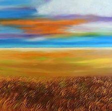 Sunburst by Mary Johnston (Oil Painting)