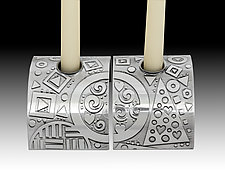 Soul Mates Candleholders by Evy Rogers (Metal Candleholders)