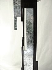 Nature's Time Grandfather Clock by Evy Rogers (Metal Clock)