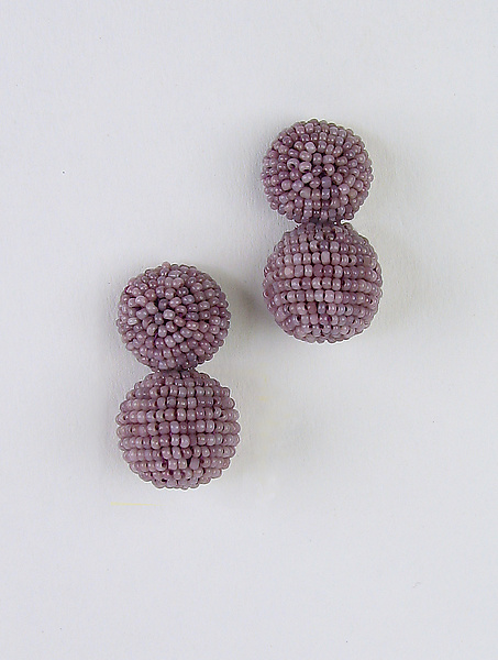 Color Pops Earrings in Heathered Orchid
