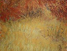 Nates Land XIX by Jan Jahnke (Mixed-Media Painting)