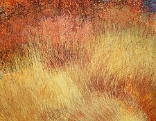 Old Indian Road 3 by Jan Jahnke (Mixed-Media Painting)