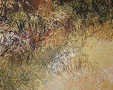 Nates Land V by Jan Jahnke (Mixed-Media Painting)