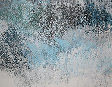 Winter Solitude by Jan Jahnke (Mixed-Media Painting)