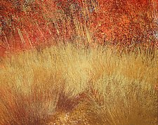 Old Indian Road I by Jan Jahnke (Mixed-Media Painting)