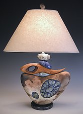 Not for Naught by Jan Jacque (Ceramic Table Lamp)