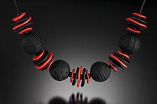 Dora Necklace by Klara Borbas (Polymer Clay Necklace)