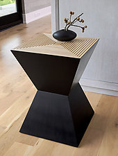 Tux Table by Kevin Irvin (Wood Side Table)