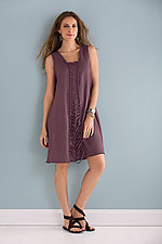 Lattice Dress by Cynthia Ashby  (Linen Dress)