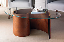Spiral Coffee Table by Richard Judd (Wood Coffee Table)