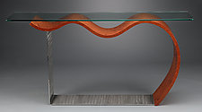 Flying Console Table by Richard Judd (Wood Console Table)