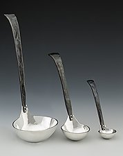 Craftsman Ladle by Nicole and Harry Hansen (Metal Serving Ware)