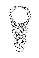 Victoria Necklace by Megan Auman (Silver & Steel Necklace)