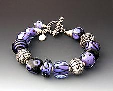Purple Haze Bracelet by Dianne Zack (Beaded Bracelet)