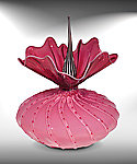 Sweetheart Bobtanical by Bob Kliss and Laurie Kliss (Art Glass Sculpture)