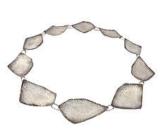 Geo Collar by Jenny Reeves (Silver Necklace)