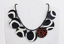Sandra Necklace by Klara Borbas (Polymer Clay Necklace)