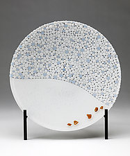 Beachcombing by Denise Bohart Brown (Art Glass Sculpture)