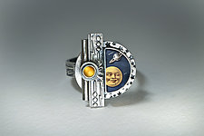 Big Bang Ring by Dawn Estrin (Silver & Stone Ring)