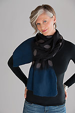 Cari Wrap by Elizabeth Rubidge  (Felted Wool & Chiffon Wrap)