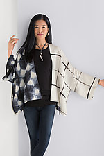 Luna Jacket by Laura Hunter  (Shibori Jacket)