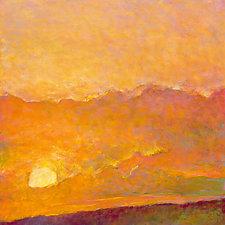 Sunset Impression by Ken Elliott (Giclee Print)