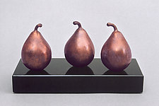 Trio Too - Trio Aussi by Darlis Lamb (Bronze Sculpture)