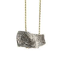 Hatchet Necklace by Sophie Hughes (Gold & Silver Necklace)